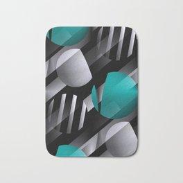 3D - abstraction -112- Bath Mat