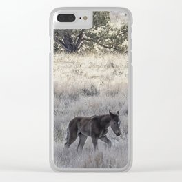 Staying Close to Mama Clear iPhone Case