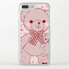 The Adventures of Bear and Baby Bear-Pastry2 Clear iPhone Case