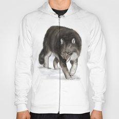 Arctic wolf Hoody