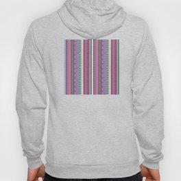 Ethnic Peruvian Striped Pattern Hoody