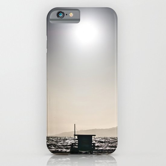 Venice Beach California Guard Tower iPhone & iPod Case