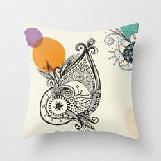 whaletangle Throw Pillow