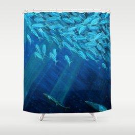 Oceans of Plenty Shower Curtain