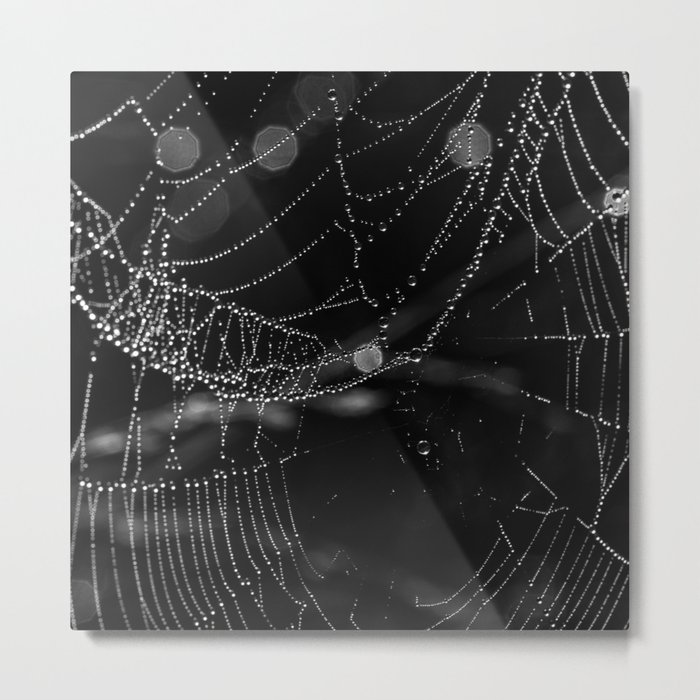 string of lights Metal Print