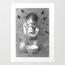 FRAGILE 1# Art Print