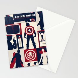 MCU Tiles 01 Stationery Cards