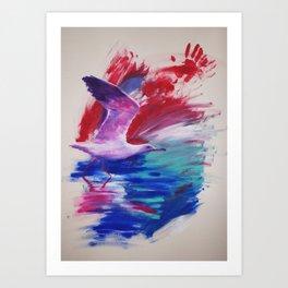 prepare to fly Art Print