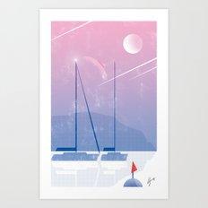 Illustre Conero - Falling Stars Art Print