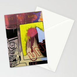 kicking against the kunst Stationery Cards