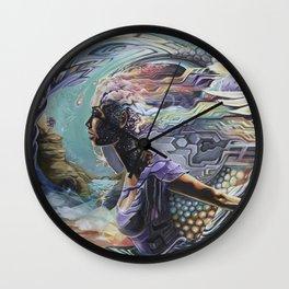 Quantum Leap Wall Clock