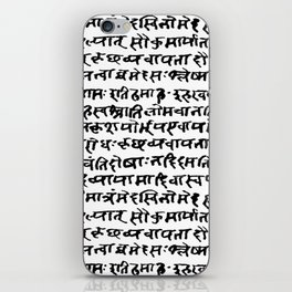 Sanskrit iPhone Skin