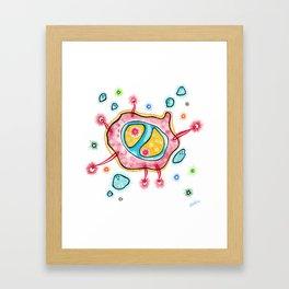 Celular Framed Art Print
