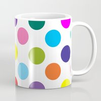 good vibes only Mugs featuring Good Vibes Only by Miss L in Art