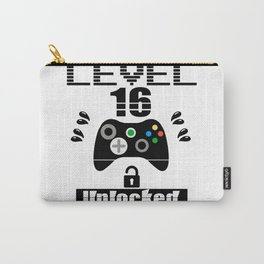 LEVEL 16 UNLOCKED Carry-All Pouch