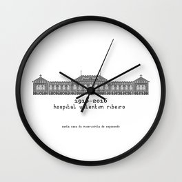 HexArchi - Portugal, Esposende, Hospital Valentim Ribeiro Wall Clock