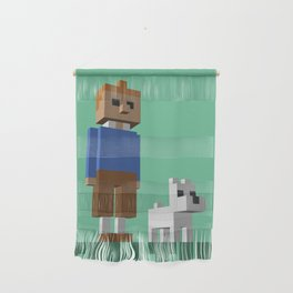 Tintin voxel tribute Wall Hanging