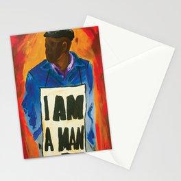 I Am A Man Stationery Cards