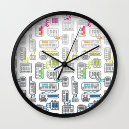 Electronica Wall Clock