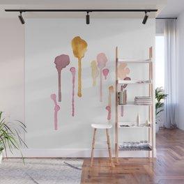 Diversity Watercolor Painting Wall Mural