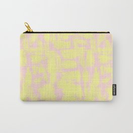 pink yellow Carry-All Pouch