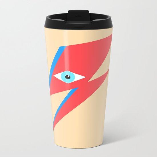 David Bowie  |  Ziggy Stardust  |  Minimalism Metal Travel Mug