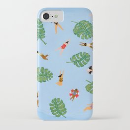 Floating in the sea iPhone Case