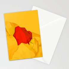 red gem of the golden mountain Stationery Cards