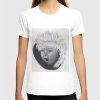 asian T-shirts featuring asian child by Caterina Zamai