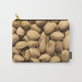 A Close Up of Pistachios Carry-All Pouch