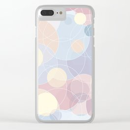 Sweet Roundabout 3 Clear iPhone Case