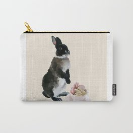 Rex and macaroons (Cream) Carry-All Pouch