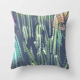 Cactus Jungle II Throw Pillow