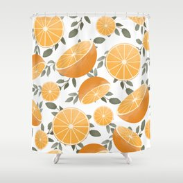 Sliced Up Shower Curtain