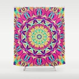 Flower Of Life Mandala (Euphoric) Shower Curtain
