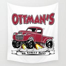 OTTMAN'S '46 Rev 2.0 Wall Tapestry