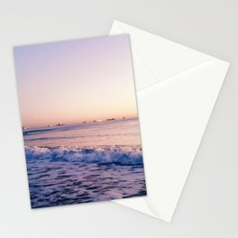 6am waves Stationery Cards