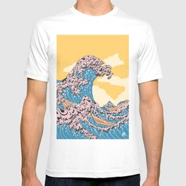 New Wave Great Wave T-shirt