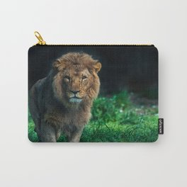 Majestic Male Lion Carry-All Pouch