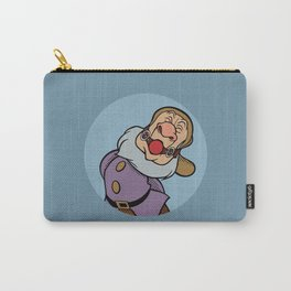 Pop Art Mashup: Snow White - gagged Sneezy Carry-All Pouch