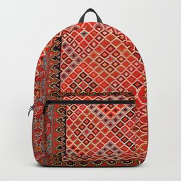 Afshar Kerman South Persian Cover Print Backpack