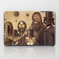 bag iPad Cases featuring Victorian Wars  by Terry Fan