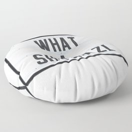 What a Shlimazl Floor Pillow
