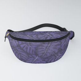 ULTRA VIOLET MONSTERA, by Frank-Joseph Fanny Pack