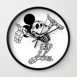 Mickey Mouse Bones Wall Clock