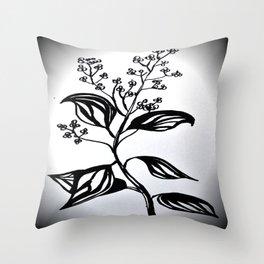 Rosewood Throw Pillow