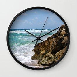 Deerfield Beach Wall Clock
