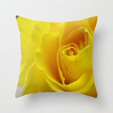 Yellow Roses #20 Throw Pillow