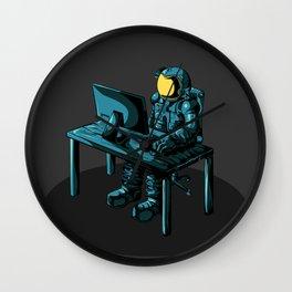 An astronaut Wall Clock
