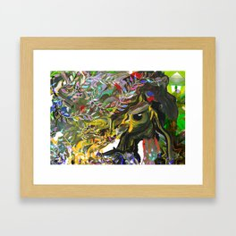 Bird's Nest - detail A Framed Art Print